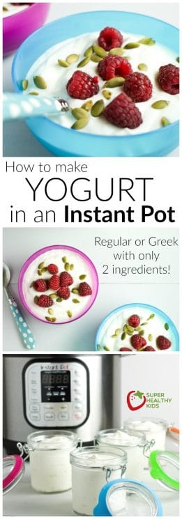 How to make yogurt in an Instant Pot | Super Healthy Kids | Food and Drink