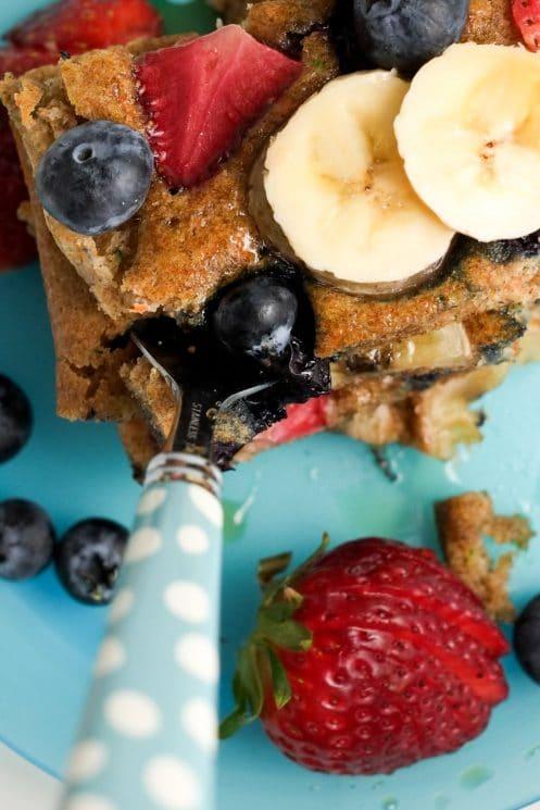Fruit & Veggie Sheet Pan Pancakes | Super Healthy Kids | Food and Drink