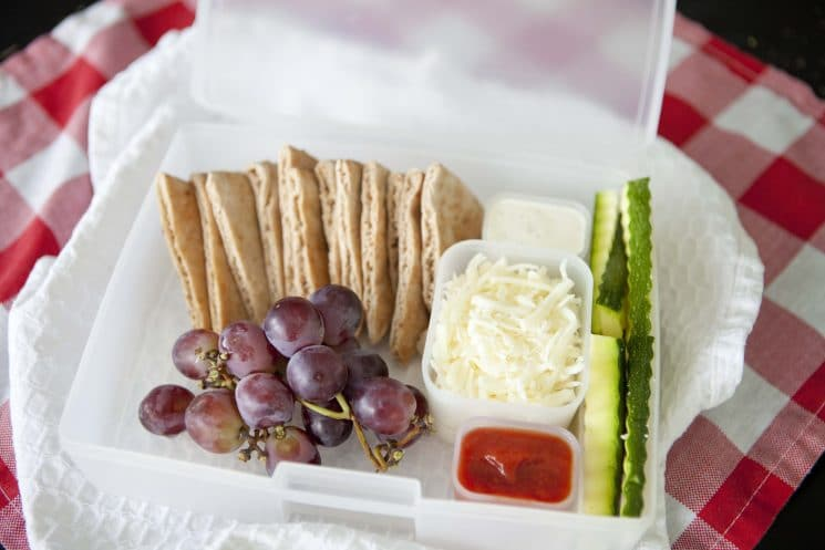 Lunchable Alternative! Packable lunch pita will save you money and give your kids the nutrition they need during the day! www.superhealthykids.com