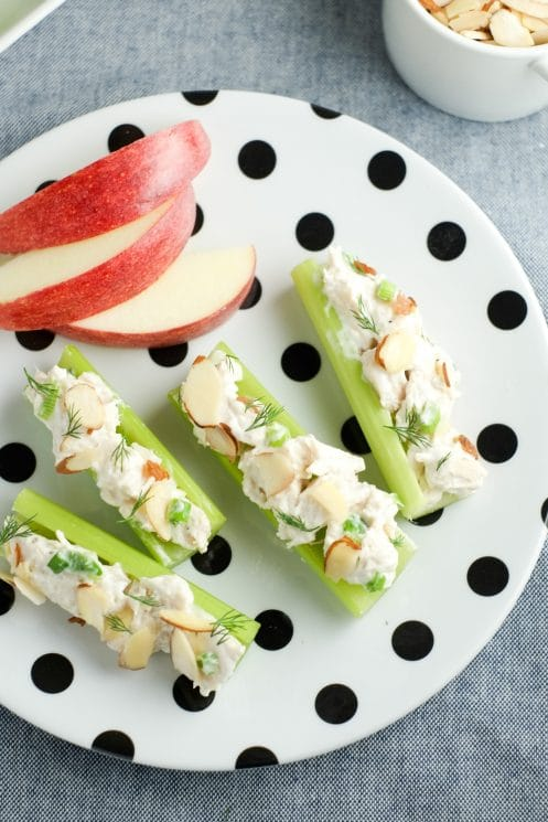 Chicken Salad Celery Sticks | Super Healthy Kids | Food and Drink