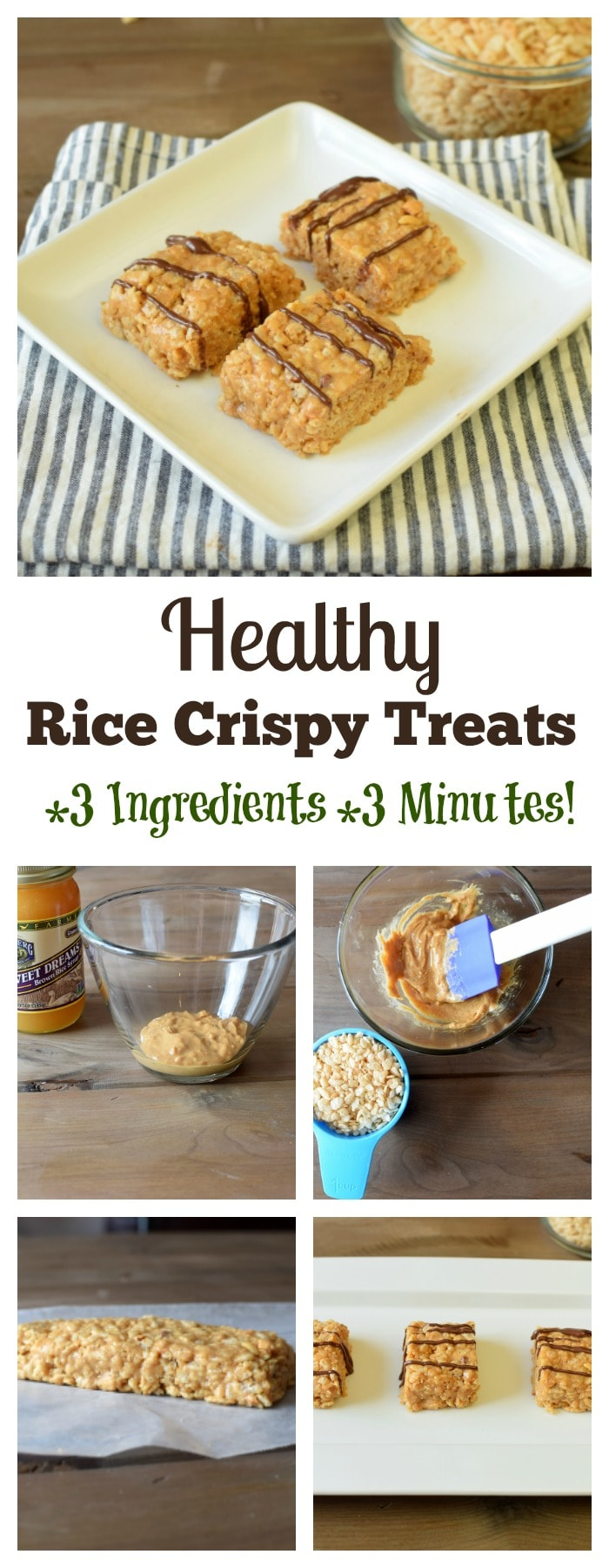 healthy rice crispy treats recipe