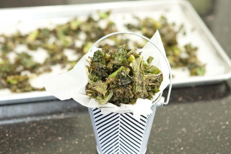 kale chips, 21 Days of Things to Do with A Picky Eater