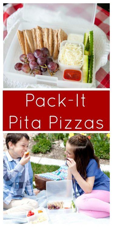 Pack-It Pita Pizzas