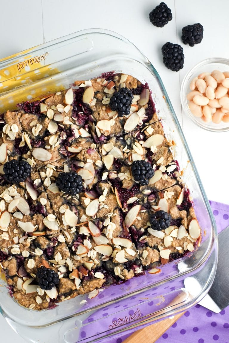 The BEST make-ahead breakfast bars! Healthy and delicious - with a hidden veggie!