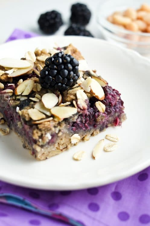 Kids love these healthy breakfast bars!