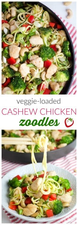 Food - Cashew Chicken ZOODLES | Super Healthy Kids