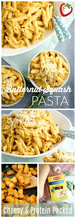 FOOD - Protein Packed Cheesy Butternut Squash Pasta Recipe | Super Healthy Kids