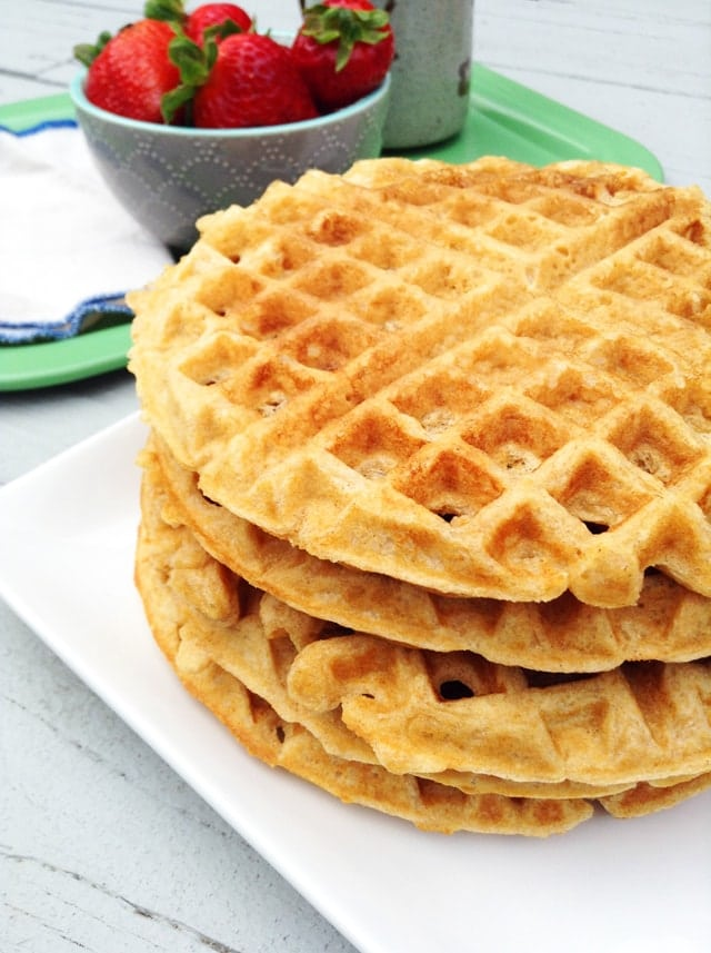 Best ever whole wheat waffles healthy ideas for kids best ever whole wheat waffles forumfinder Choice Image