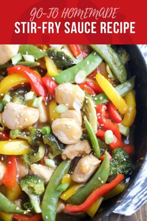 GO-TO HOMEMADE stir fry recipe