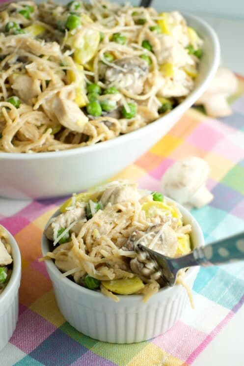 Deliciously twirl-able. Kids love pasta!
