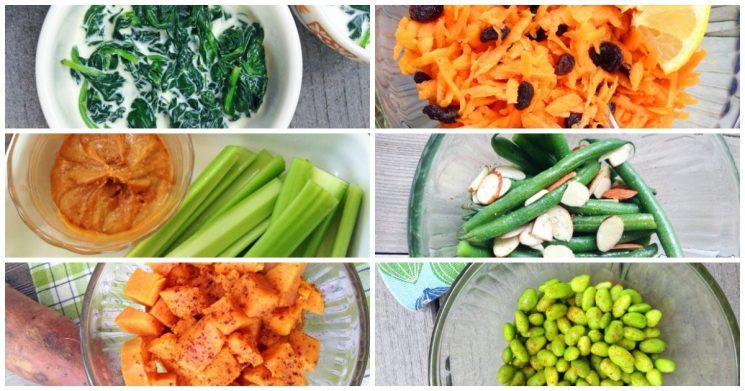 quick healthy veggies