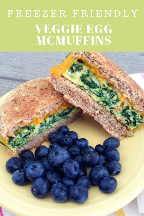 Veggie Egg McMuffins