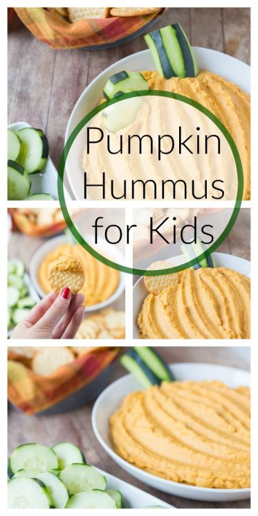 Pumpkin Hummus for Kids