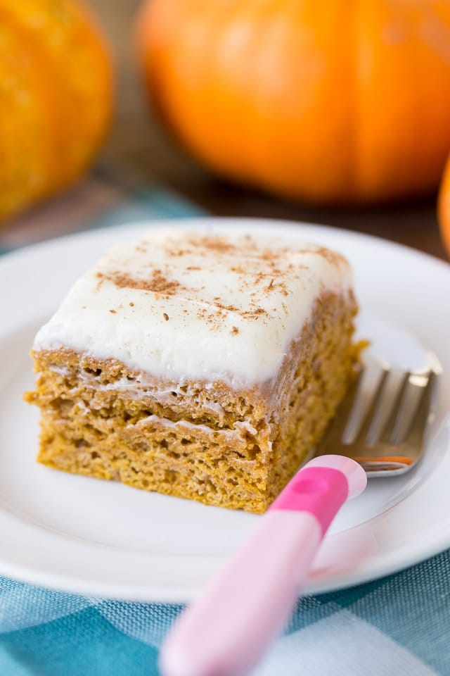 Healthy Pumpkin Spice Cake Recipe