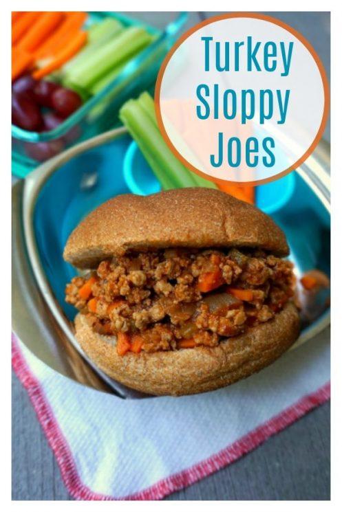 Healthy Turkey Sloppy Joes