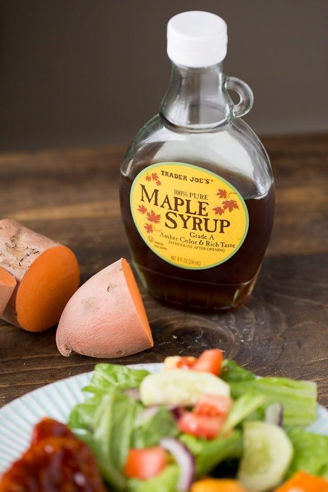 Making Maple Glazed Pork Chops