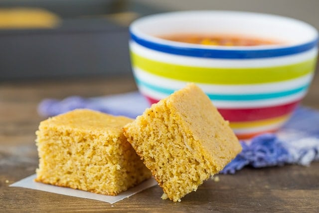 Spiced Cornbread thats perfect for fall