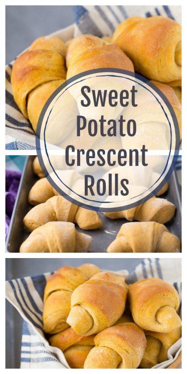 Scrumptious Sweet Potato Crescent Rolls