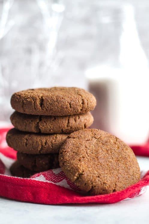 Grain Free Gingerbread Cookies