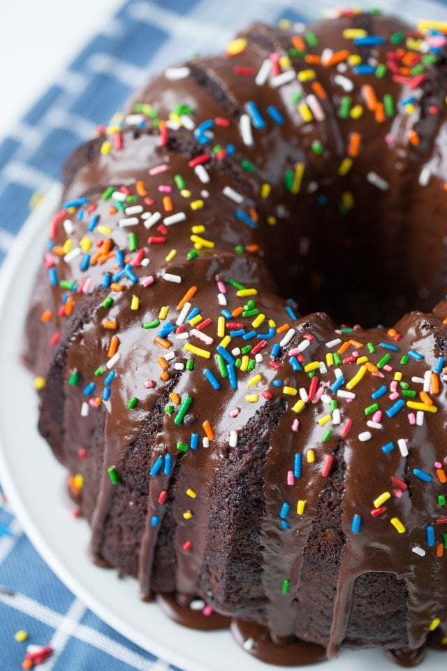 Chocolate Zucchini Bundt Cake Dessert Recipe Healthy