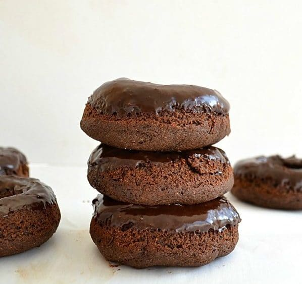 Healthy Chocolate Donuts for Kids