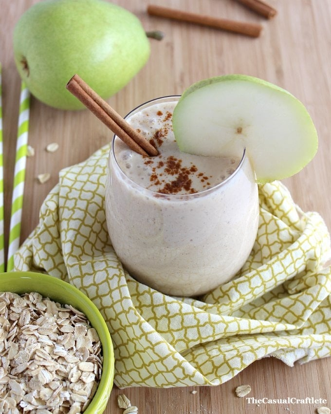 Spiced Pear Winter Smoothie for Kids