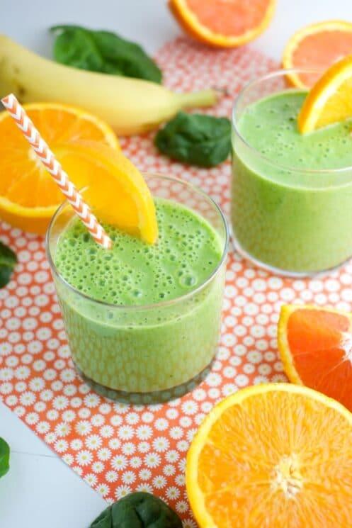Green Julius Winter Smoothie for Kids