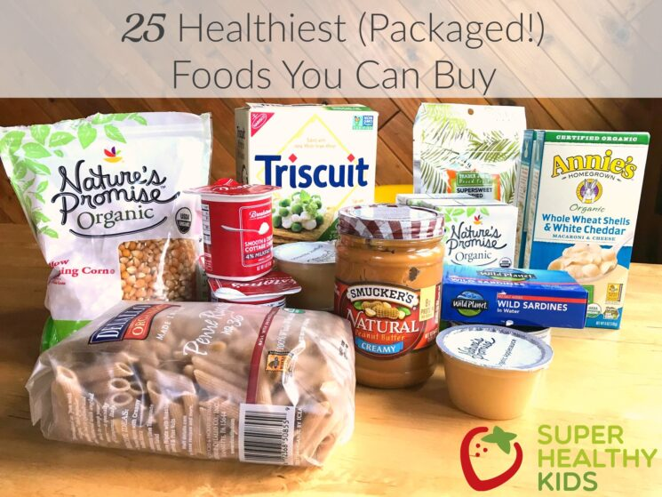 healthy packaged foods for kids