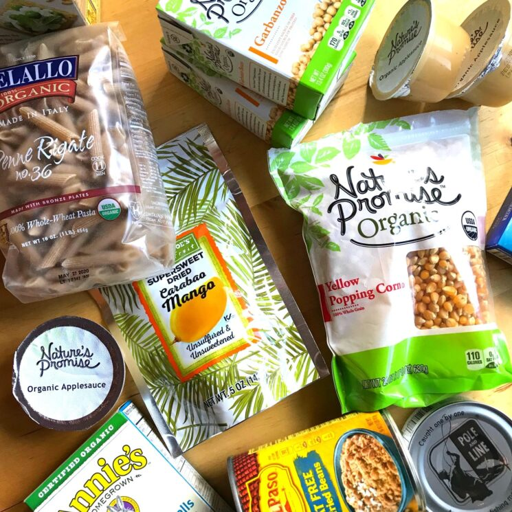 healthy whole grain packaged foods