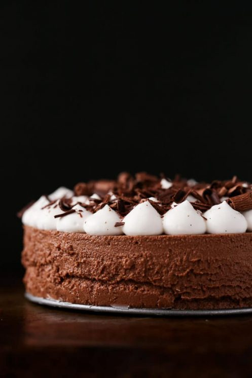 Healthy Chocolate French Silk Pie for Kids