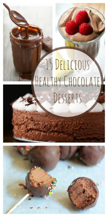 15 Delicious Healthy Chocolate Desserts