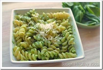 green pasta, 10 Nutrient-Packed Pasta Recipes
