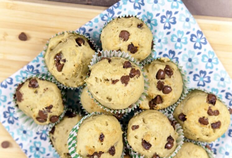Nutrient rich power breakfast Avocado banana muffins Avocado Banana Muffins Recipe