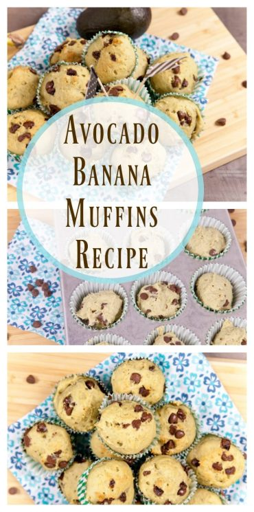 Avocado Banana Muffins Recipe
