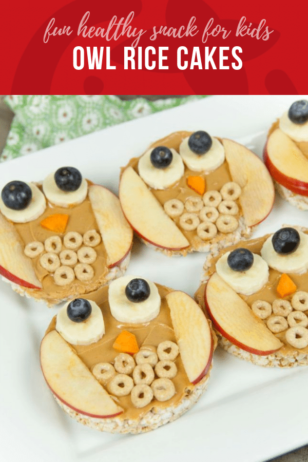 Owl Rice Cakes | Fun Food for Kids