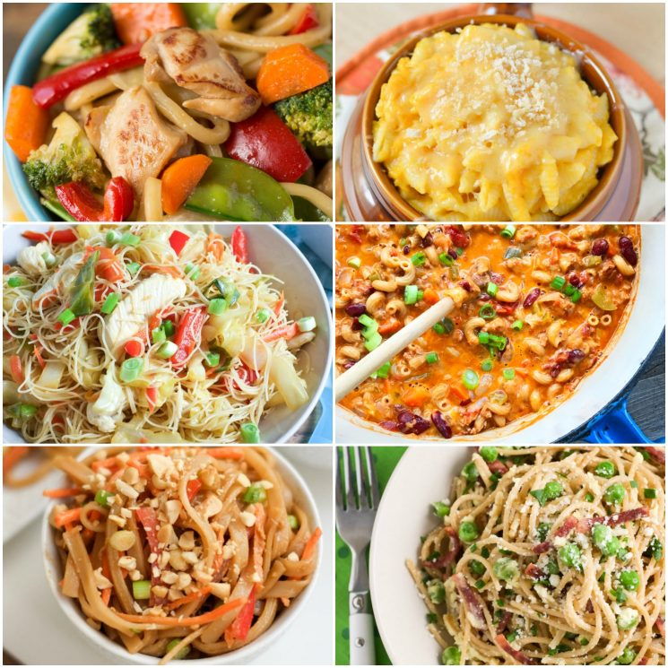 10 Nutrient-Packed Pasta Recipes