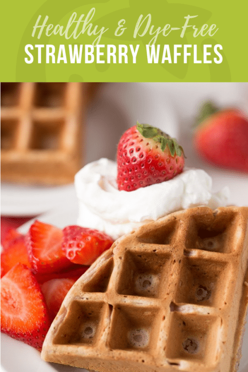 Healthy Strawberry Waffles | Healthy Recipes for Kids