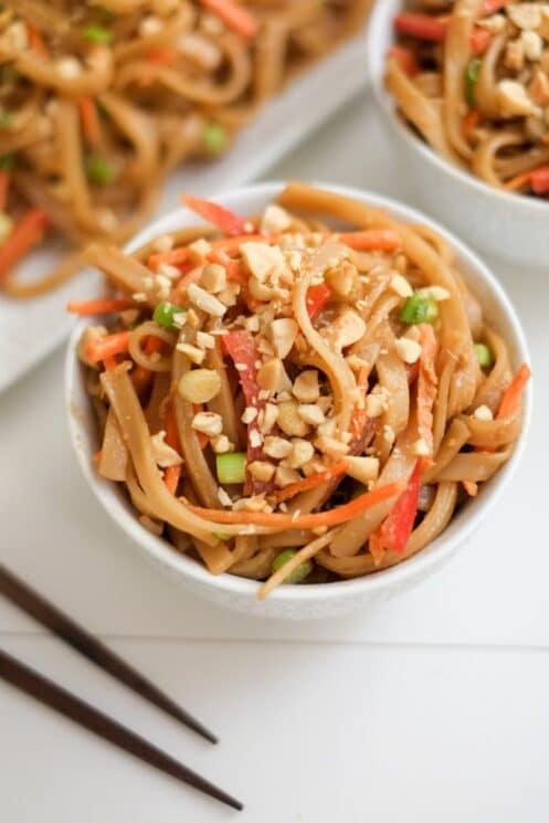 peanut sesame seed pasta, 10 Nutrient-Packed Pasta Recipes