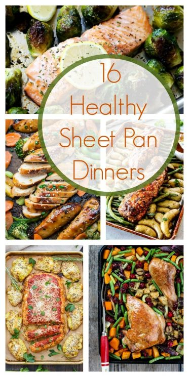 16 Healthy Sheet Pan Dinners