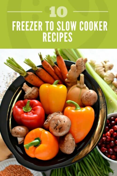 10 Quick and Healthy Freezer to Slow Cooker Recipes