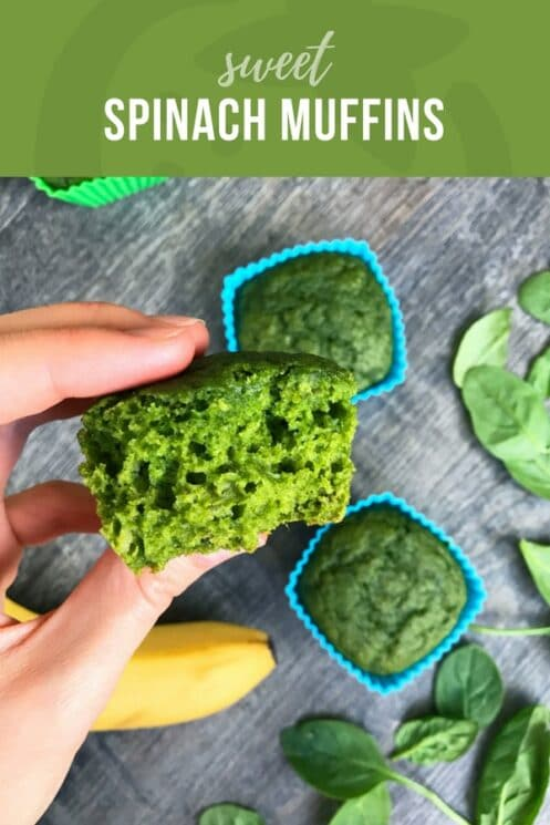 Sweet Spinach Muffins