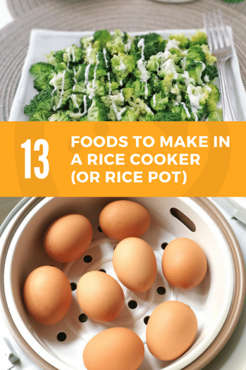 13 foods and recipes you can make in a rice pot