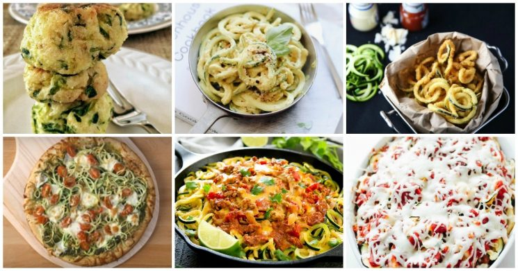 Kid friendly spirlized zucchini noodle recipes