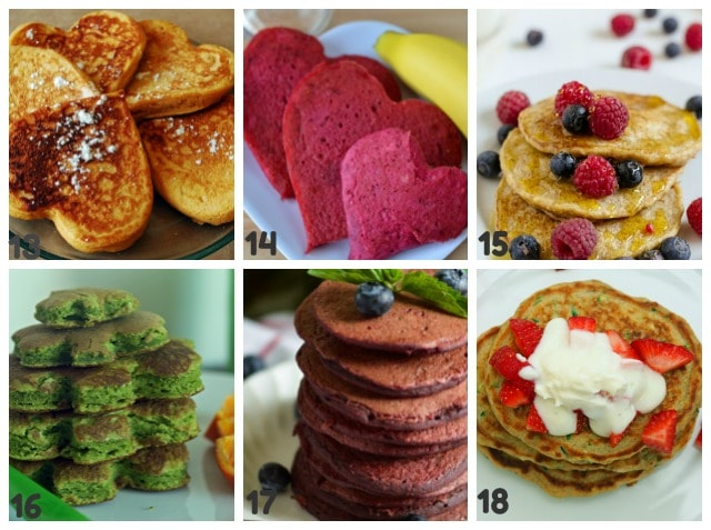 round up of kid friendly pancake recipes