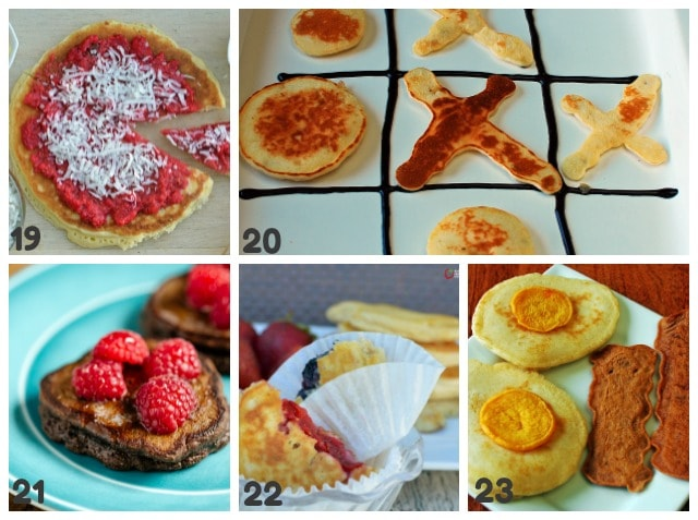 pancake ideas with shapes for kids
