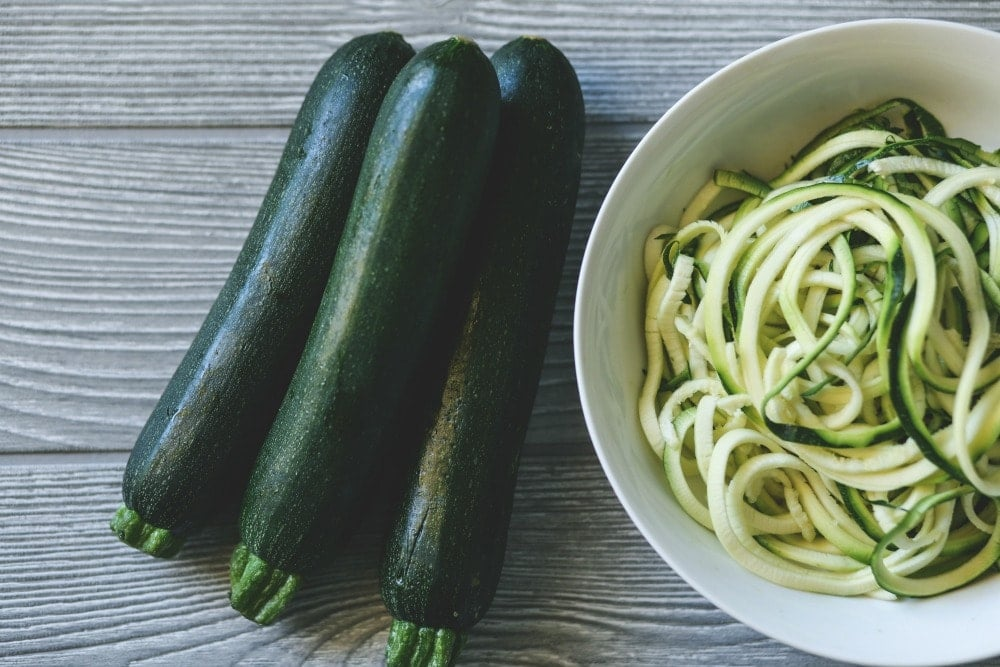 spiralized zucchini recipes for families
