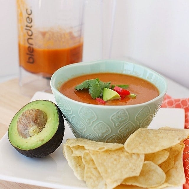 taco soup in 90 seconds