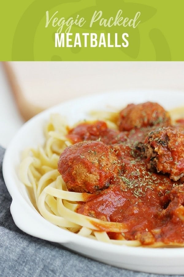Veggie Packed Meatball Recipe