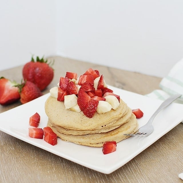 The Best Recipe For Fluffy Eggless Pancakes Healthy