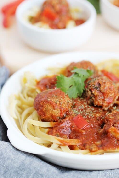 Veggie Packed Meatball Recipe